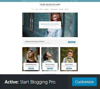 active start blogging pro