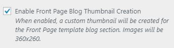 fp blog enable thumbnails setting
