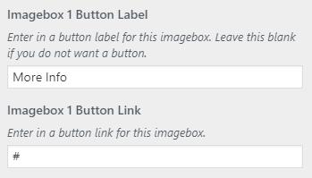 imagebox button settings