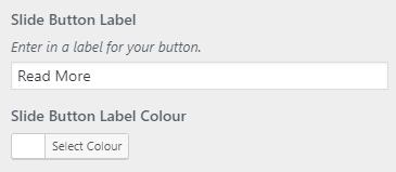 slider button settings