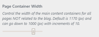 equable page width setting