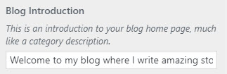 bright blog intro