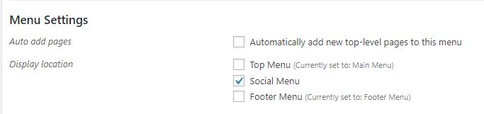 equable menu location