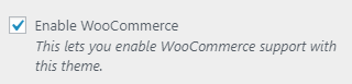 pm enable woocommerce