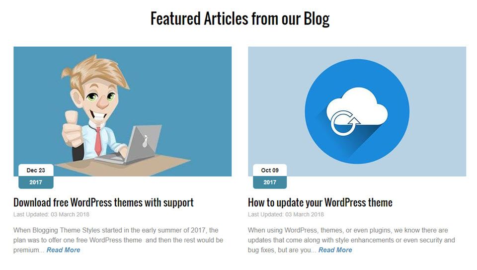 frontpage featured blog