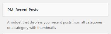 pm recent posts widget2