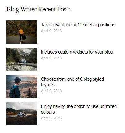bw recent posts