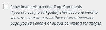 bw show image page comments