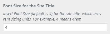 bw site tagline fontsize