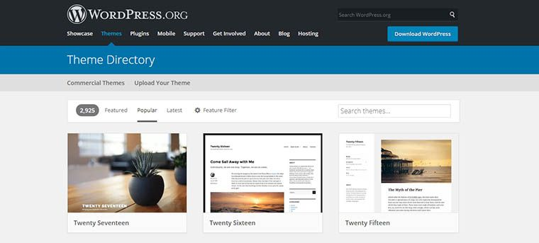 How to find the right WordPress blogging theme