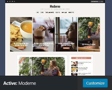 m theme active