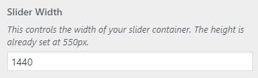 mp slider width