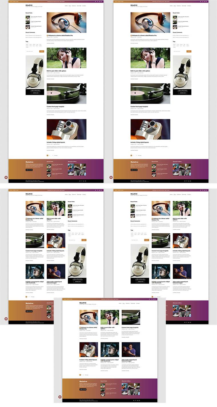 r blog layouts