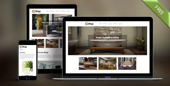 Blogg free theme