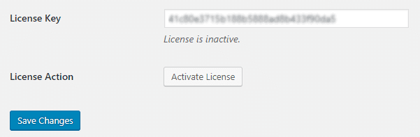 add license key 2
