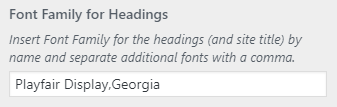 Simplified Pro change font