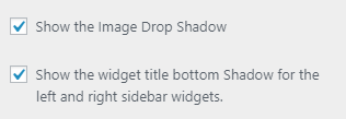 Simplified Pro shadow settings