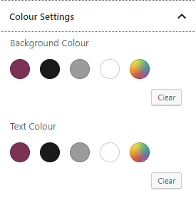 Simplified Pro GB colour setting