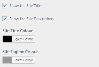 Simplified Pro Site Title Show Hide